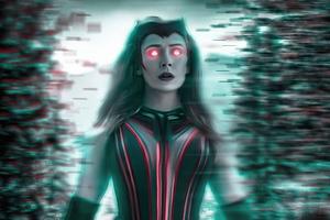 Wanda Vision Chaos Magic 4k