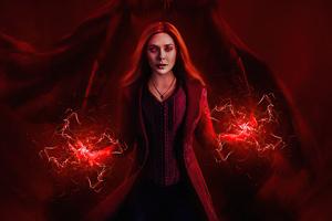 Wanda Vision Redness 4k