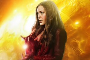 Wanda Vision Scarlet Witch 5k