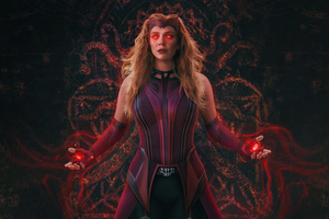 Wanda Vision Scarlet Witch Wallpaper