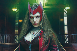 Wanda Vision Scarlet Witch Tribute 5k