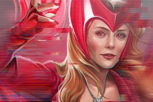 Wanda Vision Tv Series 5k Wallpaper