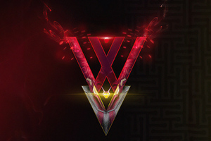 Wanda Vision Tv Series Logo 5k