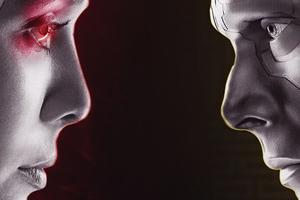Wanda Vision Tv Series Poster 4k