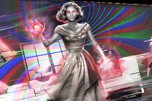 Wanda Vision With Powers 5k Wallpaper