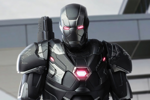 War Machine At Avengers Base