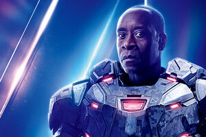 War Machine In Avengers Infinity War 8k Poster