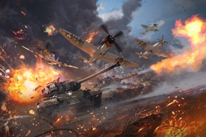 War Thunder Video Game 4k