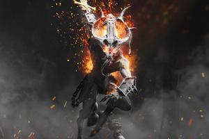 Warhammer Chaosbane Magnus Edition 4k Wallpaper