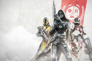 Warlock Hunter Titan Destiny 2 4k Game