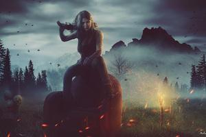 Warlord Fantasy Girl