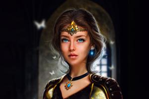 Warrior Beautiful Princess 5k Wallpaper