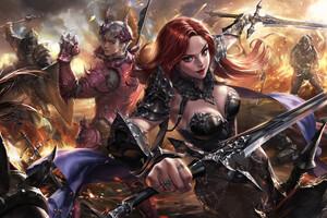 Warrior Girl Fighter 4k Wallpaper