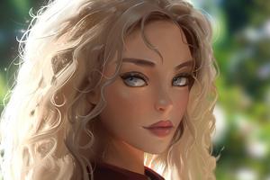 Warrior Girl Illustration 5k Wallpaper