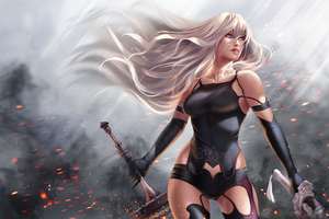 Warrior Girl Sword