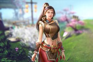 Warrior Ninja Girl 5k Wallpaper