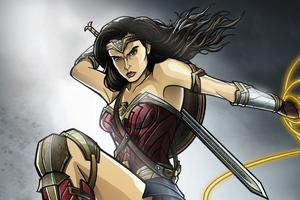 Warrior Wonder Woman Wallpaper