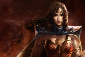 Warrior Wonder Woman Art