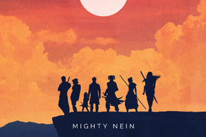 Warriors Mighty Nein Minimalist Art