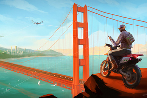 Watch Dogs 2 Concept Artwork
