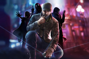 Watch Dogs Legion Game Art 4k Wallpaper