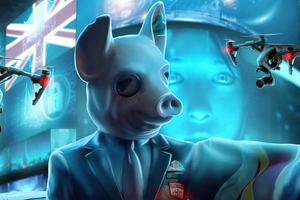 Watch Dogs Legion Pig Boss 4k Wallpaper