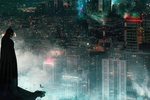 Watcher Of Gotham City Wallpaper
