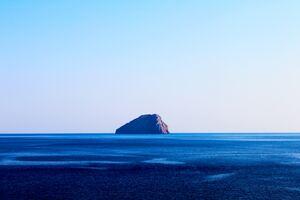 Water Ocean Island Rock