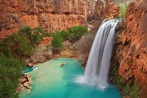 Waterfall Mountains