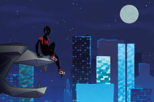 Way Up Spiderman Wallpaper