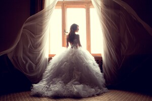 Wedding Dress Bride Wallpaper