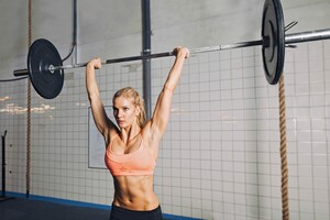 Weight Lifting Girl Wallpaper