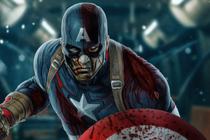 What If Captain America Zombie Wallpaper