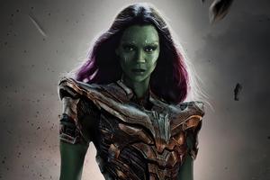 What If Gamora Wallpaper
