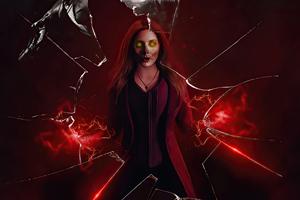 What If Wanda Vision Zombie Wallpaper