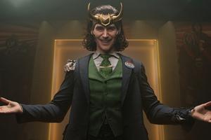 When Loki Smiles 5k Wallpaper