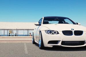 White BMW 8k Wallpaper