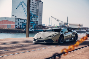 White Lamborghini 4k 2020 Wallpaper