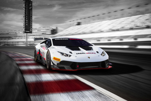 White Lamborghini Huracan 5k New 2019 Wallpaper