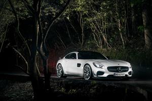 White Mercedes Benz Wallpaper