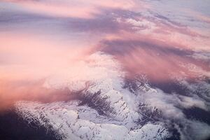 White Mountains Pink Clouds 5k
