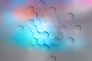 White Polygon Abstract 4k Wallpaper