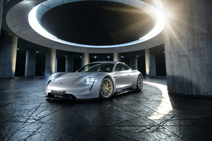 White Porsche 4k 2020 Wallpaper