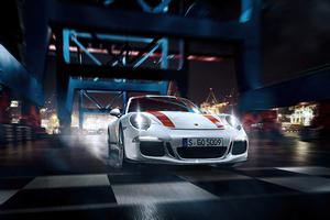White Porsche 918 4k New Wallpaper