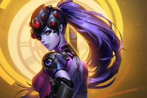 Widowmaker Artwork 4k Wallpaper