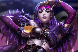 Widowmaker Digital Artwork Wallpaper