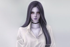 Widowmaker Fantasy Art Wallpaper