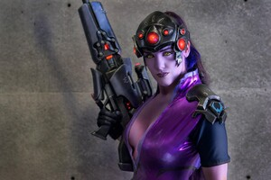 Widowmaker In Overwatch Video Game