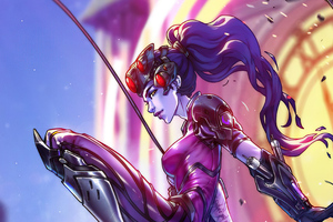 Widowmaker Jump 4k Wallpaper
