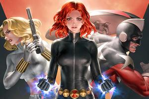 Widowmaker Marvel Comics 4k